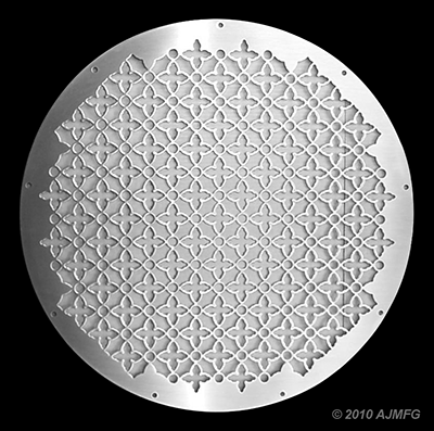 clover-pattern-grille