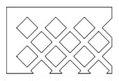 diamond-pattern-grille