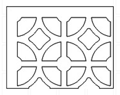 egyptian-pattern-grille