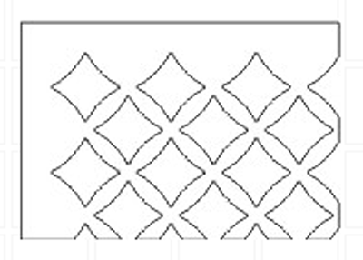 mosaic-pattern-grille