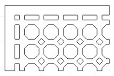 octagonal-pattern-grille