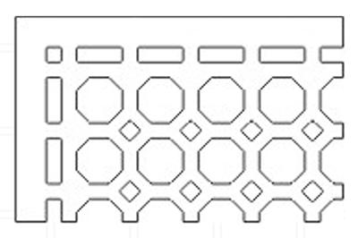 octagonal-pattern-grille