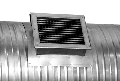Spiral Duct Diffuser - A-J Manufacturing