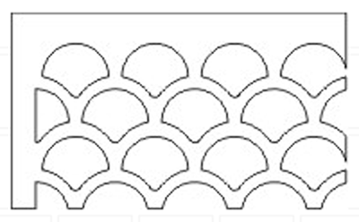 seashell-pattern-grille