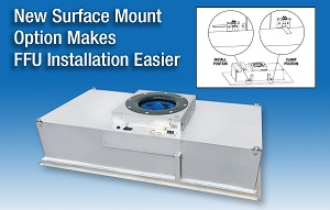 New Surface Mount Option Makes FFU Installation Easier