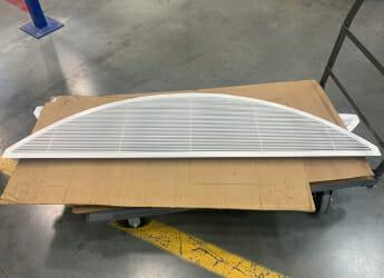 custom grille from AJ Mfg